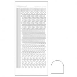 Hobbydots sticker - Adhesive white 020 STDA200
