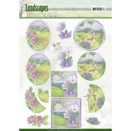 3D knipvel - Jeanine's Art - Landscapes - Spring Landscapes CD11170