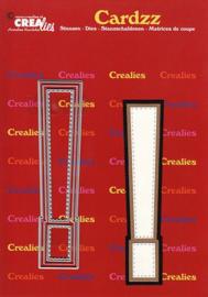 Crealies Cardzz letters Uitroepteken CLCZ428 max. 13 cm
