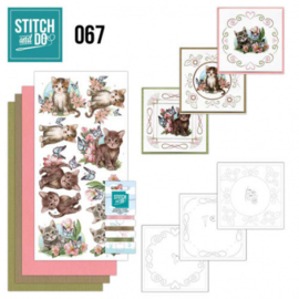 Stitch and Do 67 - Cats STDO067