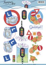 3D Knipvel - Jeanine's Art - Drivers License CD11053
