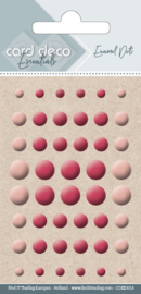 Card Deco Essentials - Enamel Dots Orange CDEED013