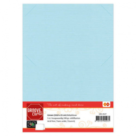 Groove Cards Babyblauw GRC-A527