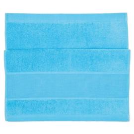 Handdoek aqua