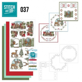 Stitch and Do 37 - Kerstversieringen STDO037