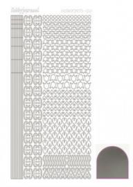Hobbydots sticker Mirror Silver 012 STDM128