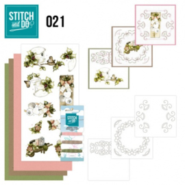 Stitch and Do 21 - Rustic Christmas STDO021