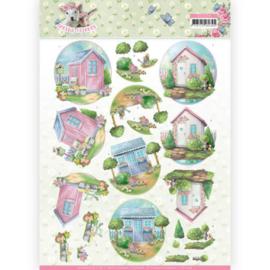 3D Knipvel - Amy Design - Spring is Here - Garden Sheds CD11279