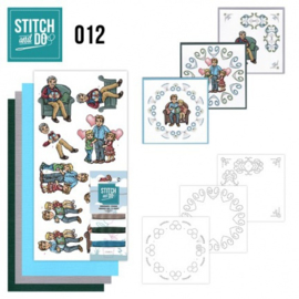 Stitch & Do 12 - Vaderdag STDO012