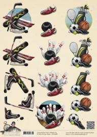 3D Knipvel - Amy Design - Its a Mans World - Sport CD10488