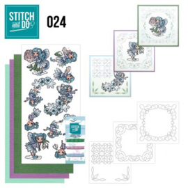 Stitch and Do 24 - Fairies STDO024