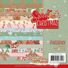 Paperpack - Yvonne Creations - Sweet Christmas YCPP10026
