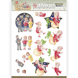 3D Push Out - Yvonne Creations - The Heart of Christmas - Fireworks SB10597