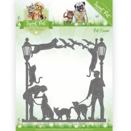 Die - Amy Design - Pet -Sweet Pet Frame ADD10116