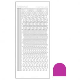Hobbydots sticker - Mirror Pink 020 STDM20F
