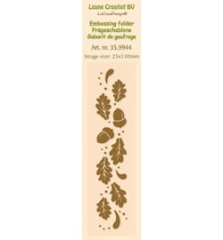 Border Embossing folder Autumn 35.9944