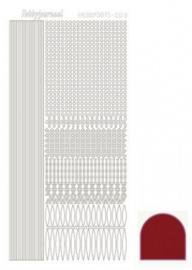 Hobbydots sticker Mirror Red 003 STDM034