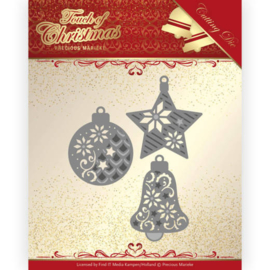 Dies - Precious Marieke - Touch of Christmas - Christmas Baubles PM10185