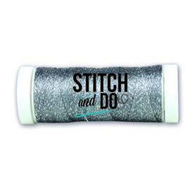 Stitch and Do Sparkles Embroidery Thread - Steel SDCDS19