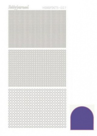 Hobbydots sticker Mirror Purple 007 STDM079