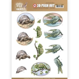 3D Pushout - Amy Design - Wild Animals Outback - Reptiles SB10443