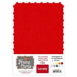 Frame Cards - Lovely - A5 - Rood FCA51000413