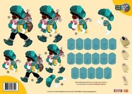3D A4 knipvel Creddy Piet CW10025