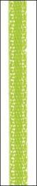 10 mtr satijnlint 3 mm neon groen 6302 042
