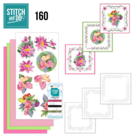 Stitch and Do 160 - Jeanine's Art - Exotic Flowers STDO160