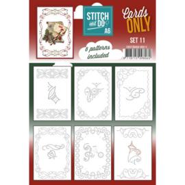 Stitch and Do - Cards Only - Set 11 COSTDOA611010