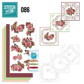 Stitch and Do 86 - Birds and Roses STDO086