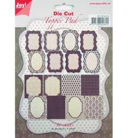 Joy Crafts Die Cut Topper pad 6013/0320