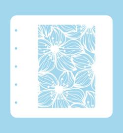 Nellie's Choice Magnetic Stencil Colour Set Flower-2 COLST002