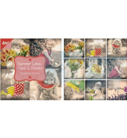 Paper bloc, 10x10cm - Summer Lovin-Paper & Pictures 6011/0059