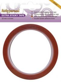 Hobbyjournaal - Extra Sticky Tape - 6 mm HJSTICKY06