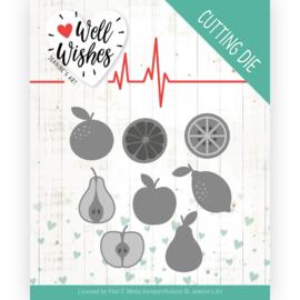 Dies - Jeanine's Art - Well Wishes - Fruits JAD10093