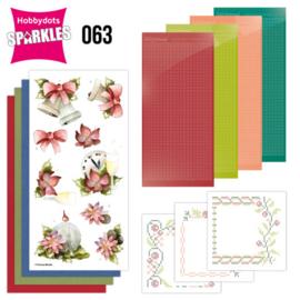 Sparkles Set 63 - Precious Marieke - Christmas Bells SPDO063