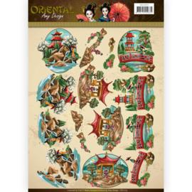 3D Knipvel - Amy Design Oriental - Landscapes CD11073