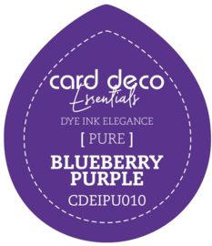 Card Deco Essentials Fade-Resistant Dye Ink Blueberry Purple CDEIPU010