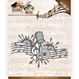 Dies - Amy Design - Sounds of Music - Music Border ADD10137