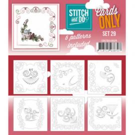 Stitch & Do - Cards only - 4k - Set 29 COSTDO10029