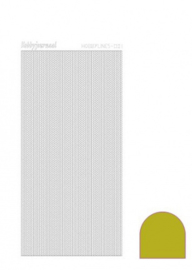 Hobbylines 001 sticker - Mirror Yellow HLM01E