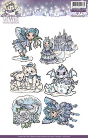 Clearstamp - Yvonne Creations - Magical winter - YCCS10006