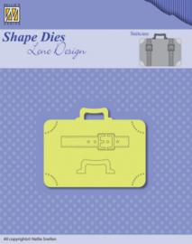 Nellies Choice Shape Dies - Lene Design - Men things - Suitcase SDL037