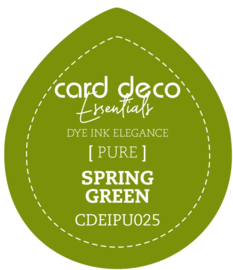 Card Deco Essentials Fade-Resistant Dye Ink Spring Green CDEIPU025