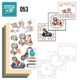 Stitch and Do 53 - Huisdieren STDO053