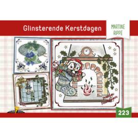 Hobbydols 223 Glinsterende Kerstdagen - Martine Rippe HD223