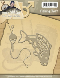Die - Amy Design - Its a Mans World - Fishing Float ADD10026