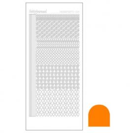 Hobby dots sticker Mirror Copper 019 STDM19B