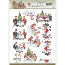 3D Push Out - Yvonne Creations - The Heart of Christmas - Dining SB10595